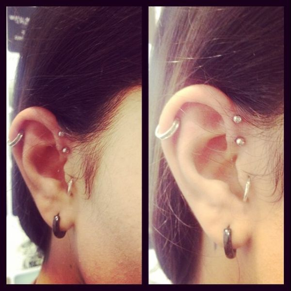 Double Forward Helix by Grace